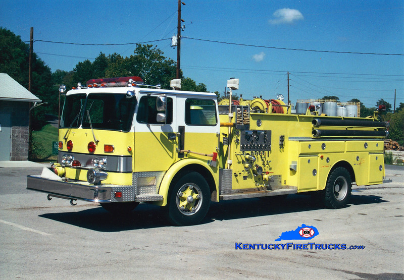 <center> RETIRED <br> Central Hardin  Engine 9 <br> x-South Dixie, KY <br> 1984 Duplex/1965 Oren 1000/500/Quad <br> Greg Stapleton photo </center>