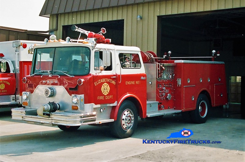 RETIRED <br /> Elizabethtown Engine 1<br /> 1979 Mack CF 1500/500 <br /> Greg Stapleton photo