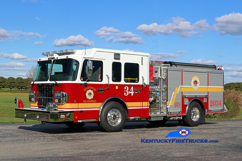 Elizabethtown  Engine 2034<br /> 2016 Spartan Metro Star/Spartan ER 1500/750<br /> Kent Parrish photo