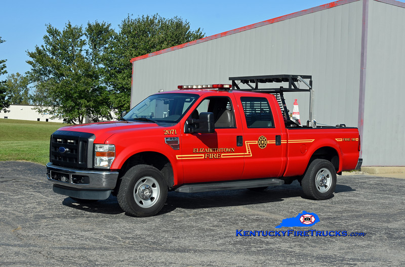 Elizabethtown Brush 2071/Highway Response Unit<br /> 2008 Ford F-350 4x4/Burner CAFS 22/60<br /> Kent Parrish photo