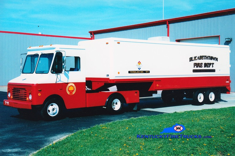 RETIRED<br /> Elizabethtown  Hazmat 11<br /> 1983 Chevy/Grumman-Olson<br /> Greg Stapleton