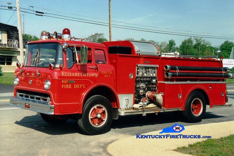 <center> RETIRED <br> Elizabethtown  Engine 2 <br> 1973 Ford C/FTI 1000/650 <br> Greg Stapleton photo </center>