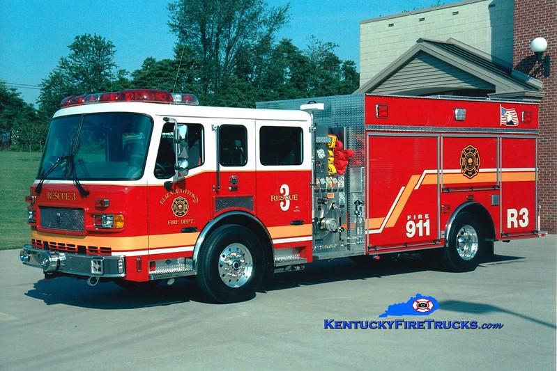 <center> Elizabethtown  Rescue 2080 <br> 2004 American LaFrance Metropolitan 1250/400 <br> Greg Stapleton photo </center>