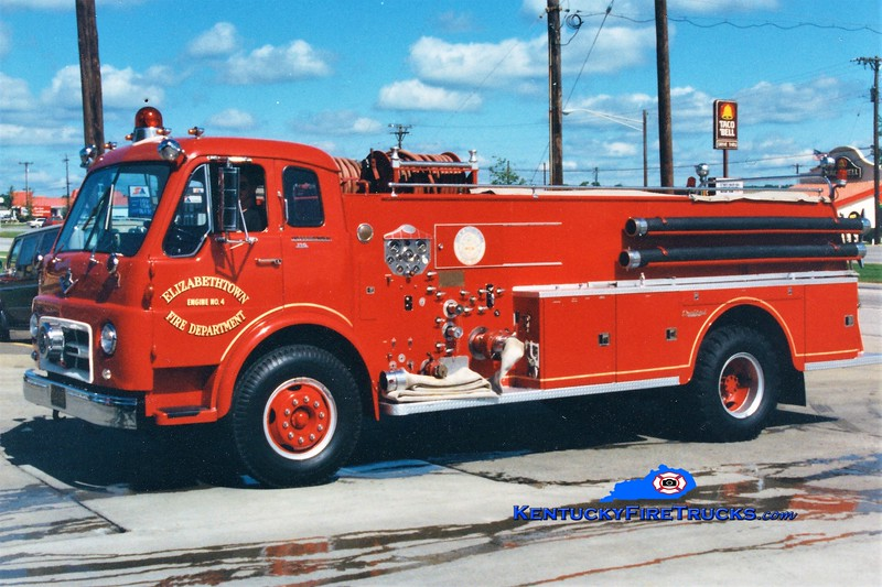RETIRED <br /> Elizabethtown  Engine 4<br /> 1964 International VCO/Central 1000/1000<br /> Greg Stapleton photo