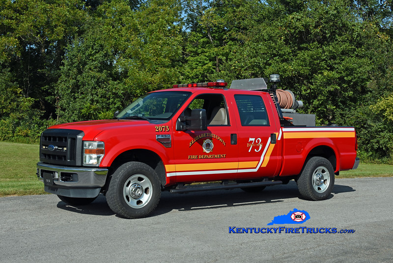 Elizabethtown Brush 2073<br /> 2009 Ford F-350 4x4 250/250<br /> Kent Parrish photo