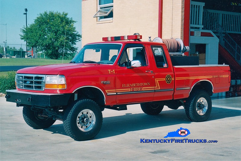 RETIRED<br /> Elizabethtown  Brush 1<br /> 1992 Ford F-250 4x4/FD 250/250<br /> Greg Stapleton photo