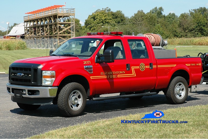 Elizabethtown  Brush 2071<br /> 2008 Ford F-350 4x4 250/250<br /> Greg Stapleton photo