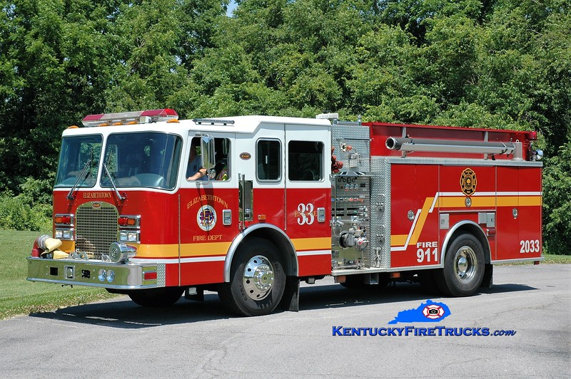 Elizabethtown  Reserve Engine 2033<br /> x-Engine 20 <br /> 1999/2017 KME Excel 1500/1000/50<br /> Greg Stapleton photo