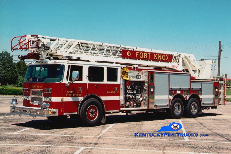 <center> Fort Knox  Ladder 10 <br> x-Ladder 1 <br> 1991/2009 Pierce Arrow 1000/500/100' <br> Greg Stapleton photo </center>