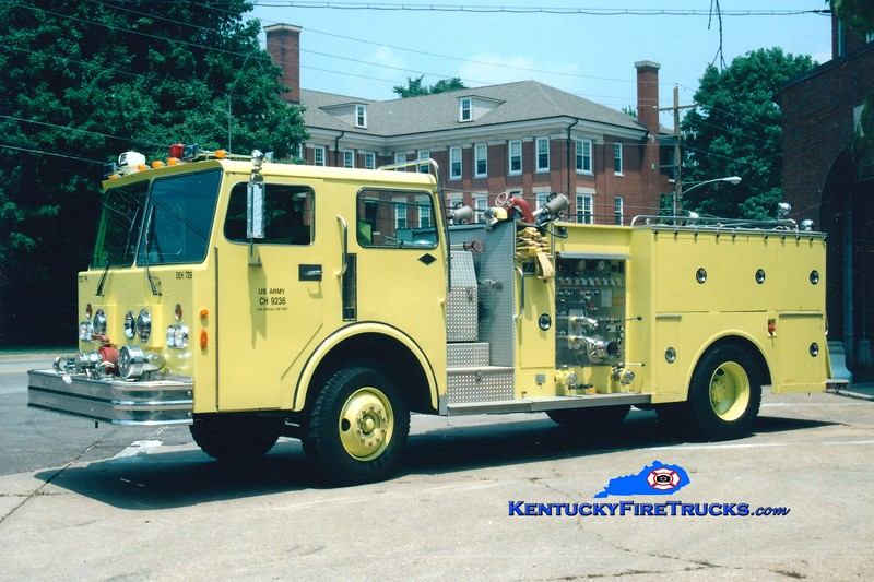 <center> RETIRED <br> Fort Knox  Engine 1 <br> 1982 Spartan/FTI 1000/500 <br> Greg Stapleton photo </center>