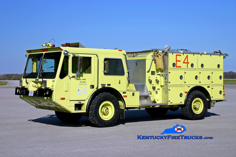 <center> RETIRED <br> Fort Knox  Engine 3 <br> 1989 Amertek 2500L 4x4 MACI 1000/660/72 <br> Kent Parrish photo </center>