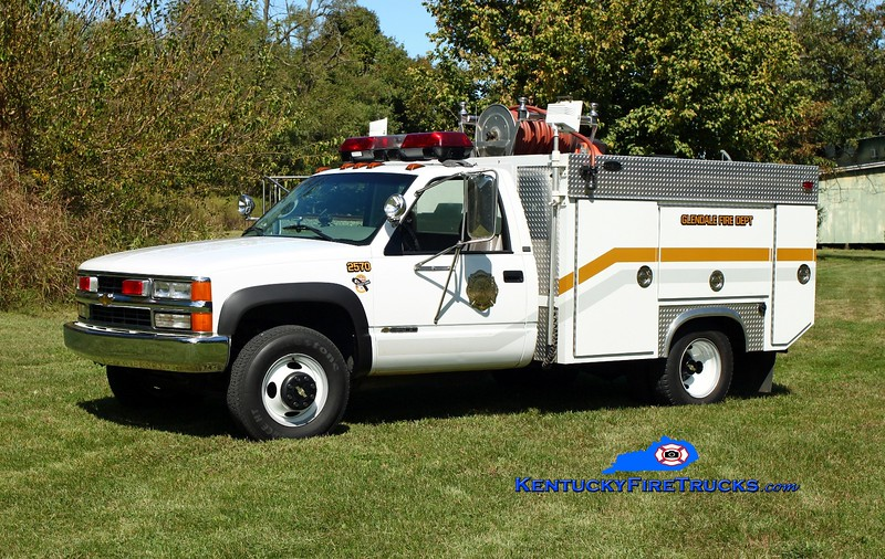 <center> Glendale  Brush 2570  <br> 1994 Chevy 3500 4x4/Becker 250/250/25A/25B <br> Kent Parrish photo <br> </center>