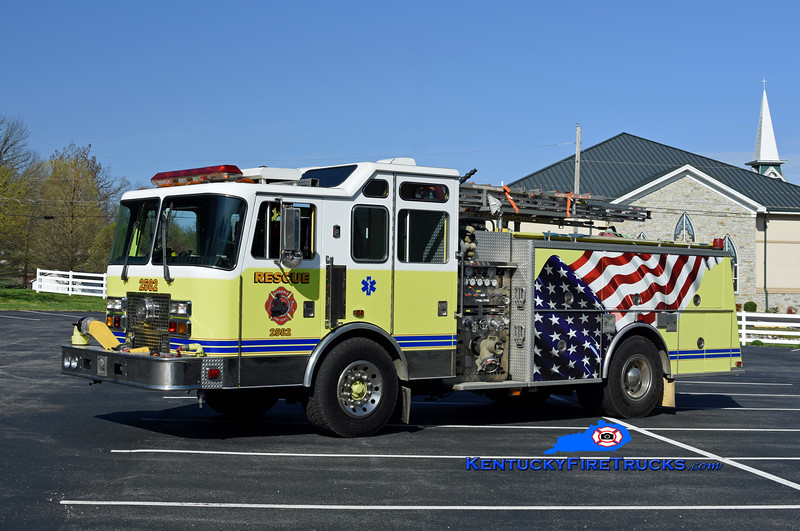 Glendale  Rescue 2582<br /> x-South Dixie and Pleasure Ridge Park, KY<br /> 1993 KME Renegade 1500/750<br /> Kent Parrish
