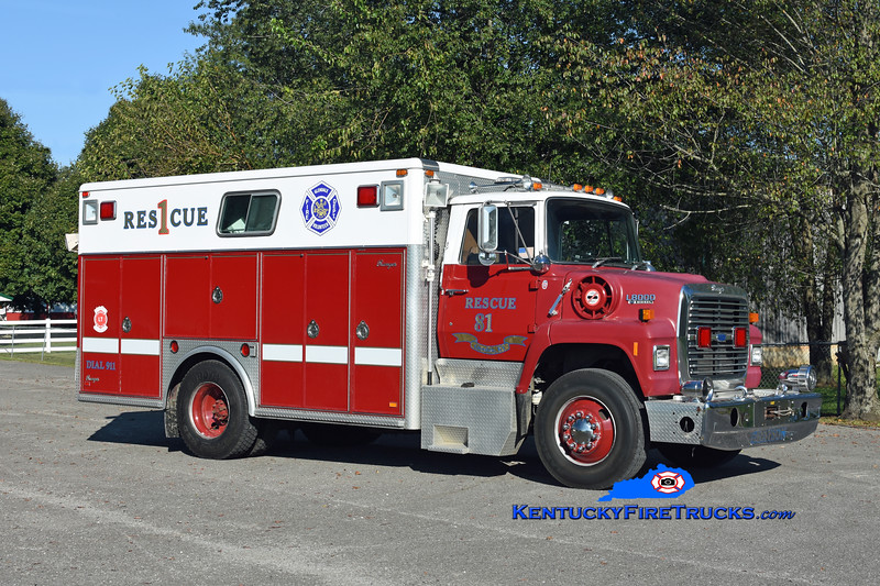 Glendale  Rescue 2581<br /> x-Alexandria & Grayson, KY <br /> 1989 Ford LN8000/Ranger<br /> Kent Parrish photo