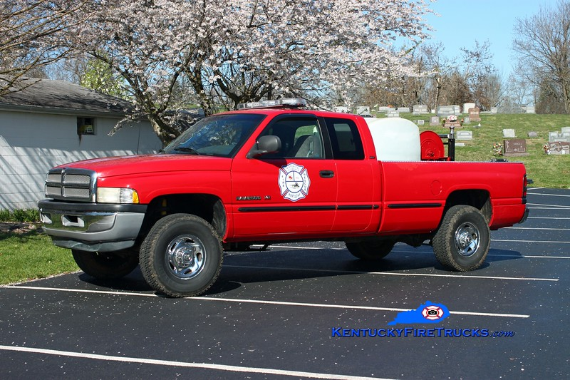 <center> RETIRED <br> Glendale  Brush 2570  <br> 1998 Dodge 2500 4x4/GFD 250/250 <br> Kent Parrish photo <br> </center>