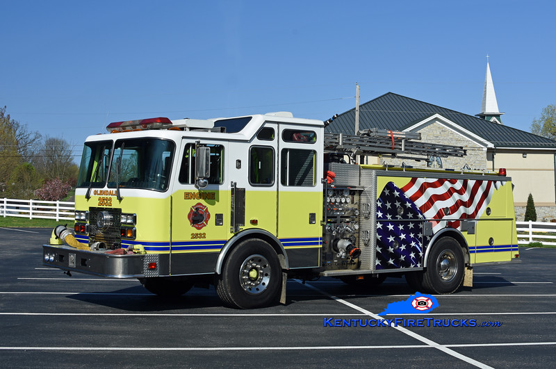 Glendale  Engine 2532<br /> x-South Dixie and Pleasure Ridge Park, KY<br /> 1993 KME Renegade 1500/750<br /> Kent Parrish