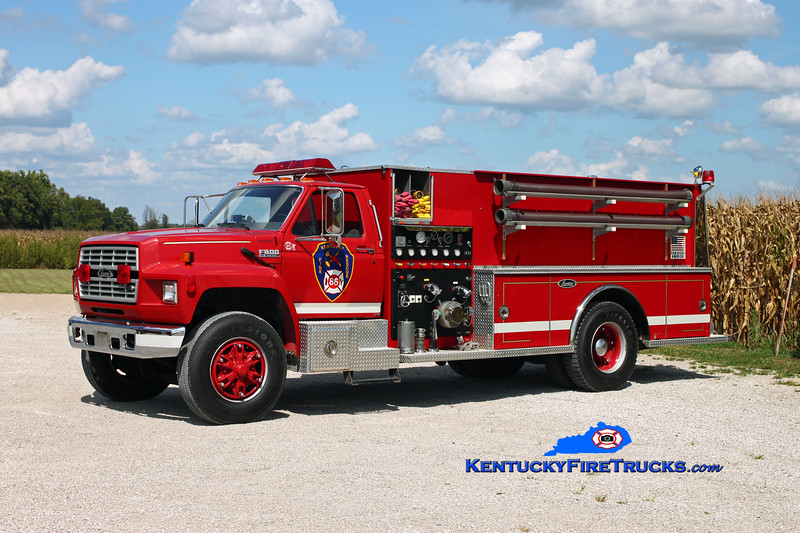 Kentucky 86 Engine 8051 <br /> 1992 Ford F-800/Luverne 1000/1000 <br /> Kent Parrish photo