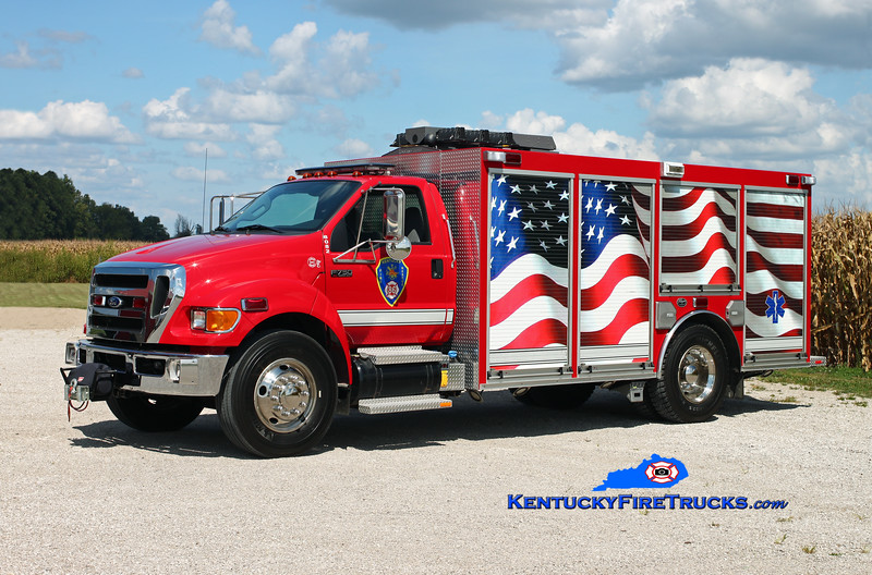 Kentucky 86 Rescue 8082 <br /> 2010 Ford F-750/Wynn <br /> Kent Parrish photo