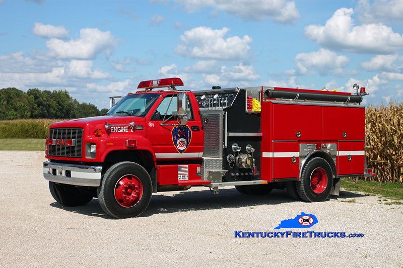 Kentucky 86 Engine 8052 <br /> 2001 GMC C8500/Ferrara 1250/1000 <br /> Kent Parrish photo
