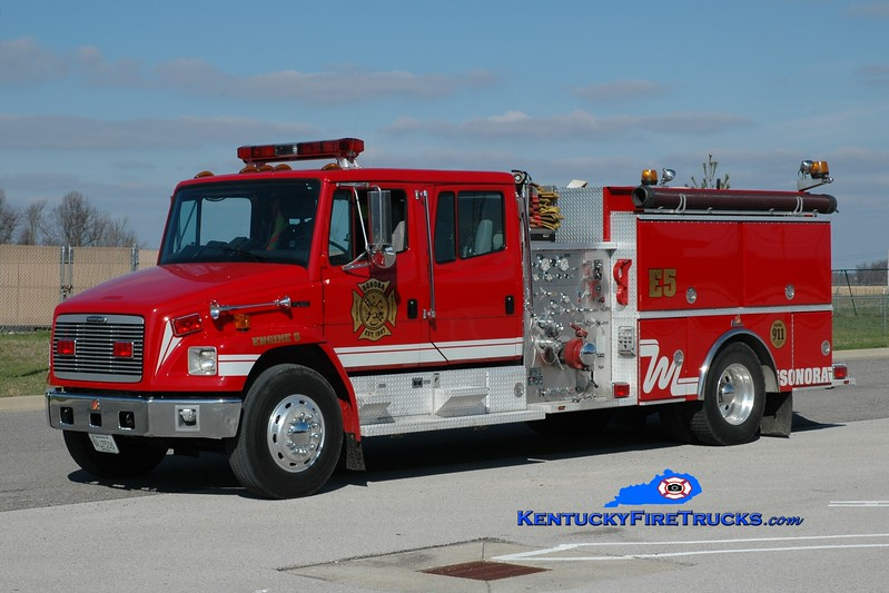 <center> Sonora  Engine 1135 <br> 1998 Freightliner FL80/Ferrara 1250/1000 <br> Greg Stapleton photo </center>