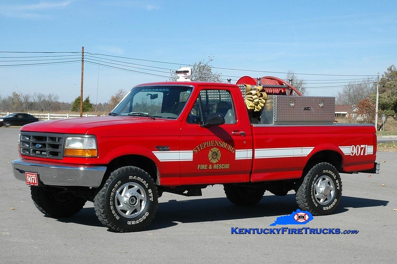 <center> Stephensburg  Brush 9071 <br> 1997 Ford F-250 4x4/SFD 250/250 <br> Greg Stapleton photo </center>