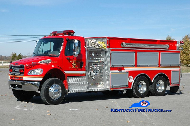<center> RETIRED <br> Stephensburg  Engine 9032 <br> 2003 Freightliner M2-106/Bluegrass 1250/2000 <br> Greg Stapleton photo </center>