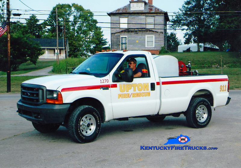 <center> RETIRED <br> Upton  Brush 1270 <br> 1998 Ford F-250 4x4/FD 250/250 <br> Greg Stapleton photo </center>