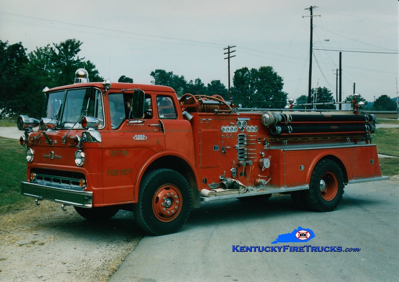 <center> RETIRED <br> Upton  Engine 4 <br> 1963 Ford C/American 1000/500 <br> Greg Stapleton photo </center>