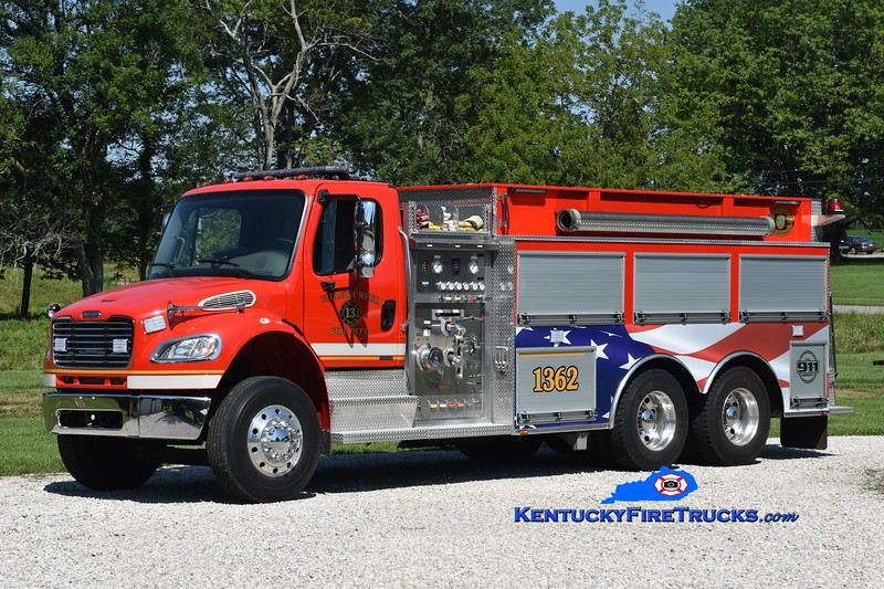 Valley Creek Tanker 1362<br /> x-Stephensburg, KY <br /> 2003 Freightliner M2-106/Bluegrass 1250/2000<br /> Greg Stapleton photo