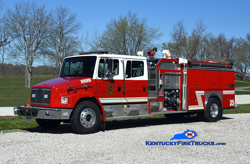 Valley Creek  Engine 1335<br /> x-Vine Grove, KY<br /> 1998 Freightliner FL80/Ferrara 1250/1000/30<br /> Kent Parrish photo