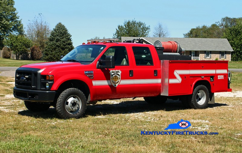 <center> Valley Creek  Brush 1371 <br> 2007 Ford F-350 4x4/Knapheide/Pro Poly 250/250 <br> Kent Parrish photo </center>