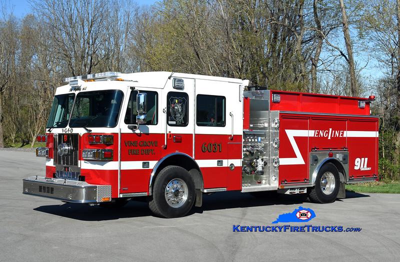 Vine Grove Engine 6031<br /> 2020 Sutphen Monarch 1500/1000<br /> Kent Parrish photo