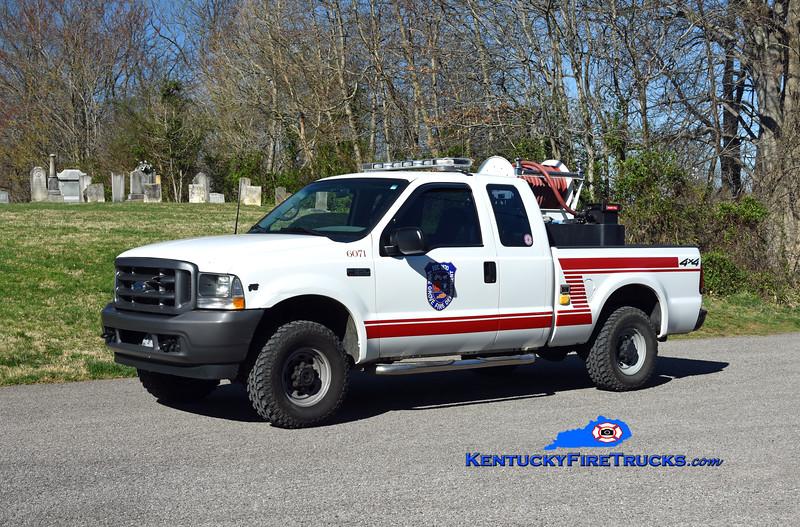Vine Grove Brush 6071<br /> 2001 Ford F-350 4x4 RKO 100/200<br /> Kent Parrish