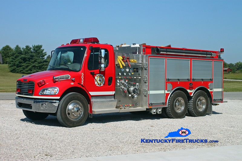 <center> White Mills  Engine 5032 <br> 2005 Freightliner M2-106/Bluegrass 1250/1800 <br> Kent Parrish photo </center>