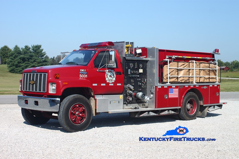 <center> White Mills  Engine 5031 <br> 1991 Chevy Kodiak/Grumman 1000/1200 <br> Kent Parrish photo </center>