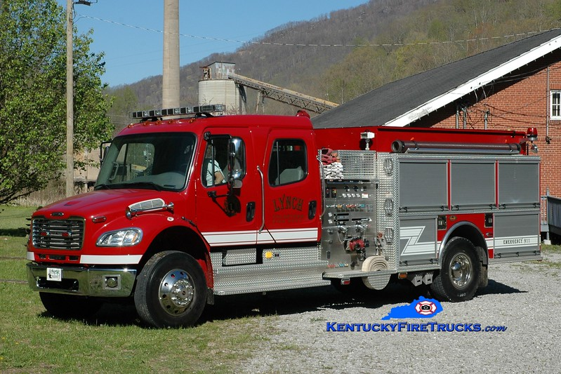 Lynch  Engine 1<br /> 2005 Freightliner M2-106/KME 1250/1000<br /> Greg Stapleton photo