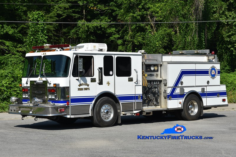 Wallins Engine 3<br /> x-Greenbelt, MD & Laurel County, KY<br /> 1999 Spartan/Quality 1500/500<br /> Greg Stapleton photo