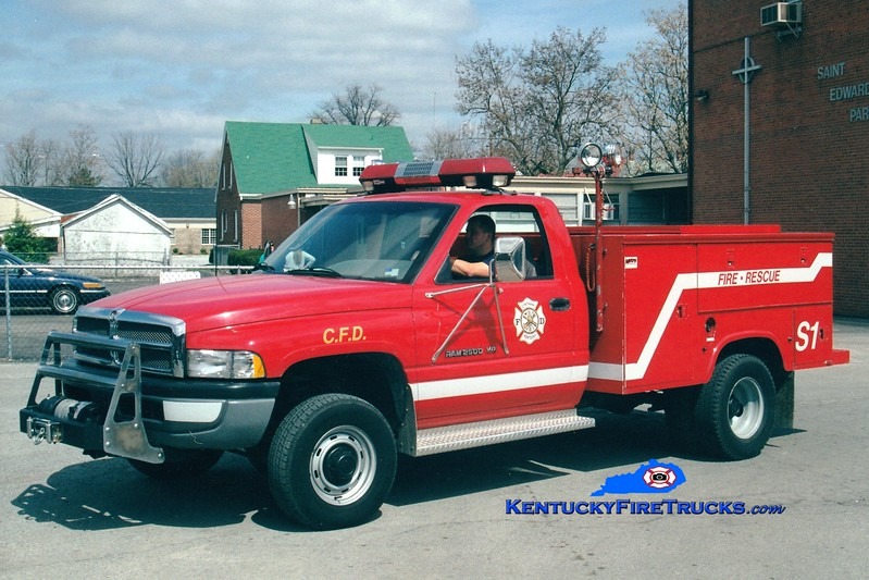 <center> RETIRED <br> Cynthiana Squad 1  <br> 1996 Dodge 2500 4x4/1972 Reading  <br> Greg Stapleton photo </center>