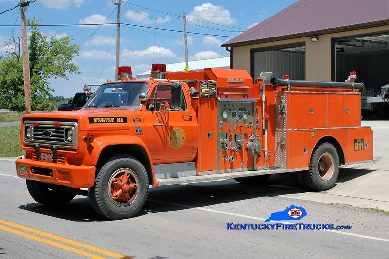 Harrison County  Engine 81<br /> x-Bainbridge Community, TN<br /> 1978 Chevy C65/FMC-Bean 750/750<br /> Greg Stapleton photo