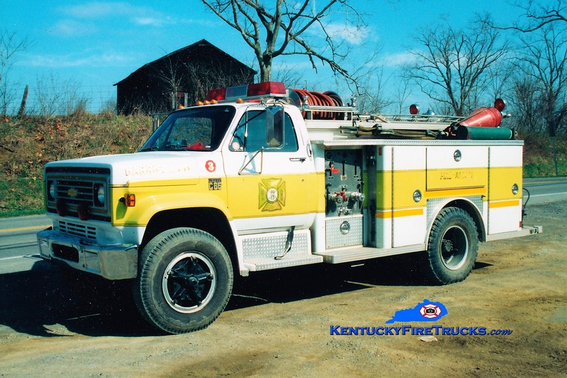 RETIRED <br /> Harrison County  Engine 3<br /> 1978 Chevy/E-One 450/300<br /> Greg Stapleton photo