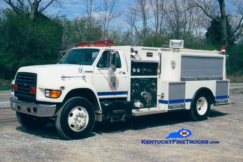<center> Harrison County  Engine 91 <br> 1998 Ford F/Pemna 1000/1000 <br> Greg Stapleton photo <br> </center>