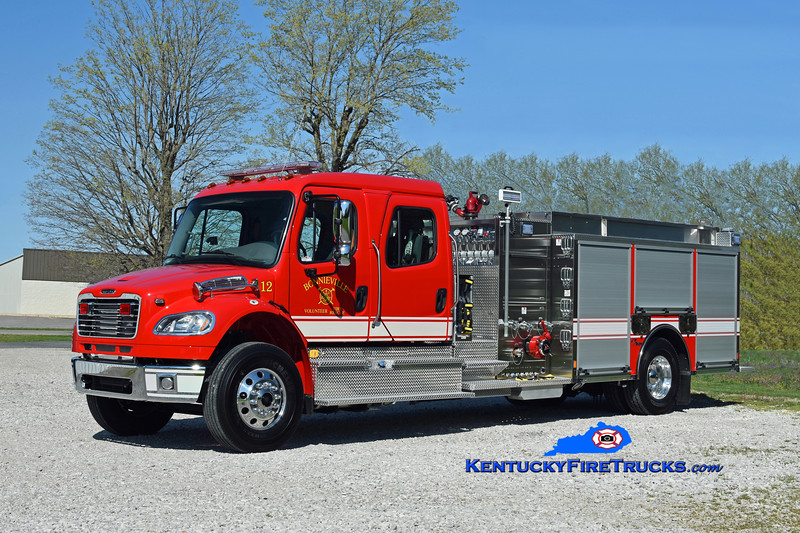 Bonnieville  Engine 12<br /> 2018 Freightliner M2-106/Toyne 1250/1000/25<br /> Kent Parrish photo