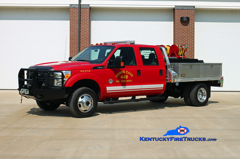 Horse Cave Brush 448<br /> 2014 Ford F-350 4x4/High Tech Rescue HPP/200<br /> Kent Parrish photo