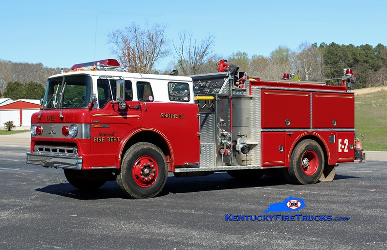 Linwood  Engine 56<br /> x-Vine Grove, KY<br /> 1987 Ford C-8000/Grumman 1250/1000<br /> Kent Parrish photo