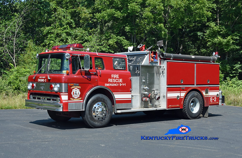 Linwood Engine 51<br /> x-Larue County, KY<br /> 1986 Ford C-8000/Grumman 1250/1000<br /> Kent Parrish photo