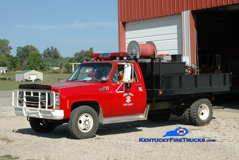 <center> RETIRED <br> Priceville  Brush 73 <br> 1977 Chevy K30 4x4/Heiman/FD 50/350 <br> Greg Stapleton photo </center>