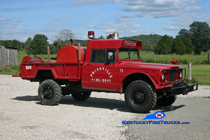 <center> RETIRED <br> Priceville  Brush 73 <br> 1968 Kaiser 4x4 250/250 <br> Kent Parrish photo </center>