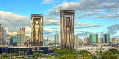 Oahu Buildings HDR