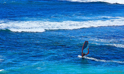 Oahu Windsurfing