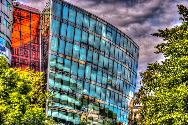 Office building in Grønland, Oslo (HDR)